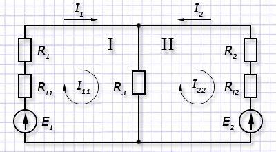 Электротехника задачи с решениями метод контурных токов решение задач дидактический материал чесноков